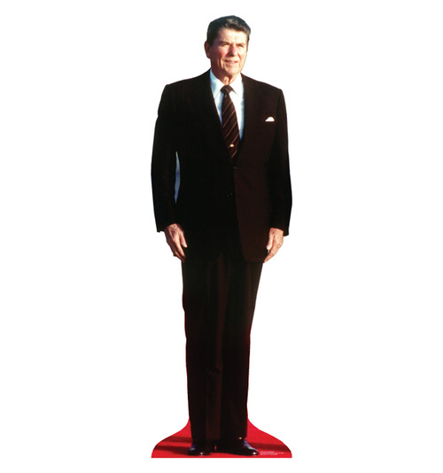 Life-size President Ronald Reagan Cardboard Standup| Cardboard Cutout