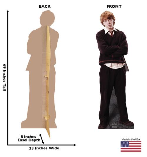 Life-size Ron Weasley Cardboard Standup | Cardboard Cutout