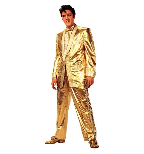 Elvis Presley Gold Suit Cardboard Cutout