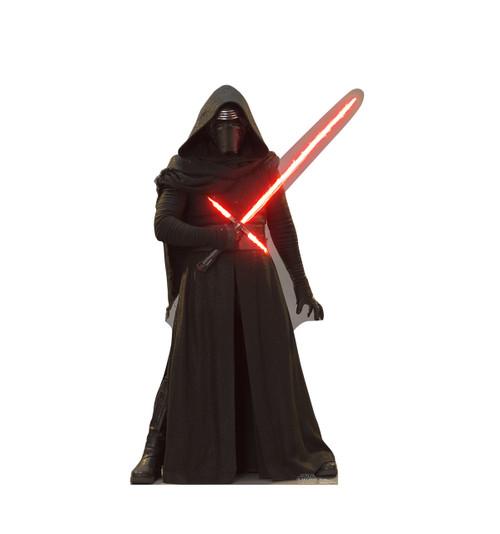 Life-size Kylo Ren 2 - Star Wars: The Force Awakens Cardboard Standup | Cardboard Cutout
