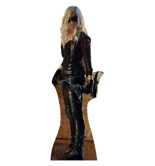 Life-size Sara Lance / Black Canary - Arrow Cardboard Standup | Cardboard Cutout