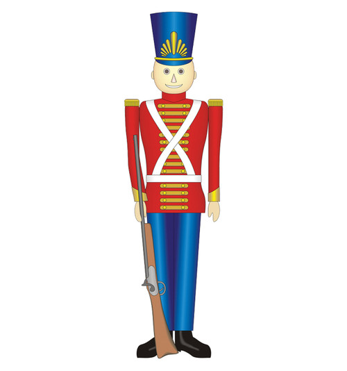 Life-size Toy Soldier Cardboard Standup | Cardboard Cutout