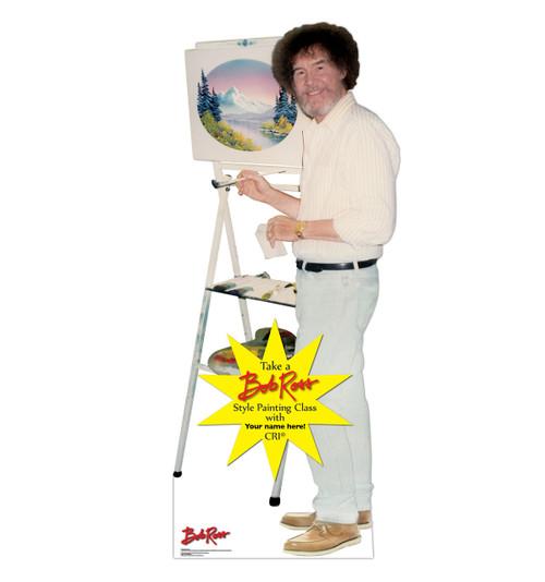 Life-size Custom Bob Ross Cardboard Standup | Cardboard Cutout 2