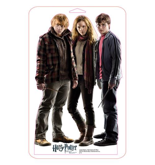 Tabletop Harry, Hermione and Ron Mini Cardboard Standup | Cardboard Cutout
