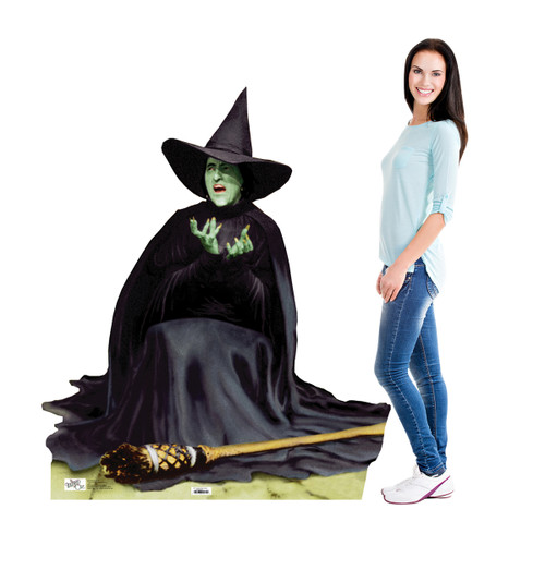 Life-size The Wicked Witch Melting Cardboard Standup | Cardboard Cutout