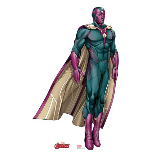 Life-size Vision (Avengers) Cardboard Standup | Cardboard Cutout