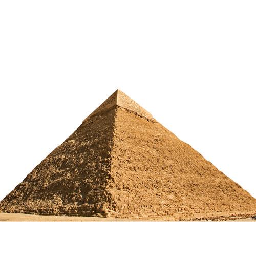 Life-size Egyptian Pyramid of Chephren Cardboard Standup | Cardboard Cutout