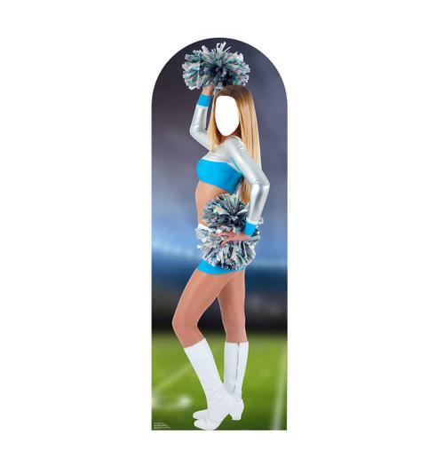 Life-size Cheerleader Stand-In Cardboard Standup | Cardboard Cutout