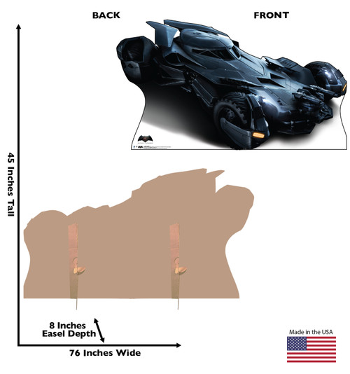 Batmobile - Batman V. Superman - Cardboard Cutout 2128