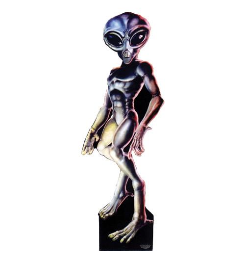 Life-size Roswell Alien - Male Cardboard Standup | Cardboard Cutout