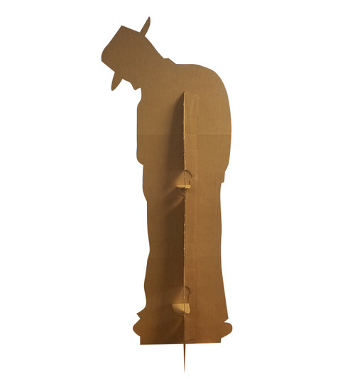 Life-size Gangster Silhouette Cardboard Standup | Cardboard Cutout