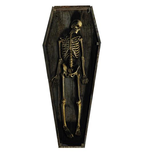 Skeleton Casket - Cardboard Cutout