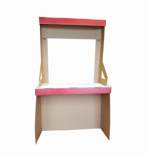 Life-size Kissing Booth Cardboard Standup | Cardboard Cutout