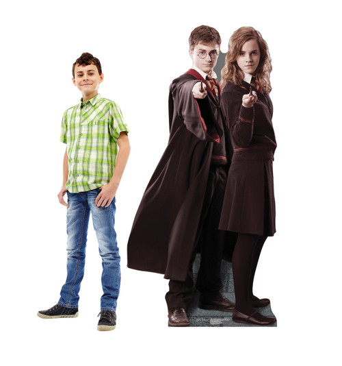 Harry and Hermione Cardboard Cutout