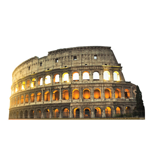 Colosseum in Italy - Cardboard Cutout 1857