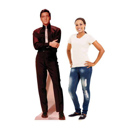 Life-size Elvis Presley Talking 1 Cardboard Standup with model