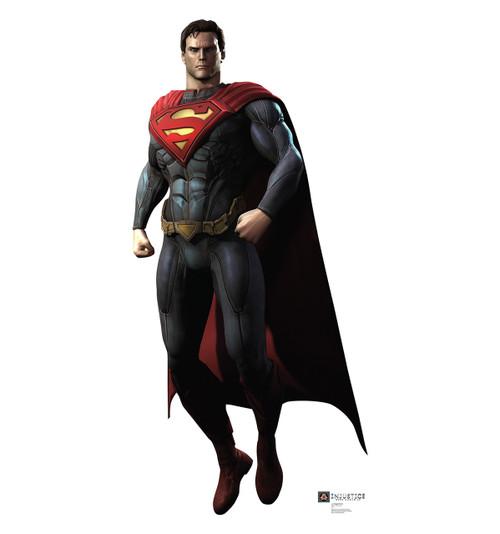 Life-size Superman - Injustice Gods Among Us Cardboard Standup   Cardboard Cutout