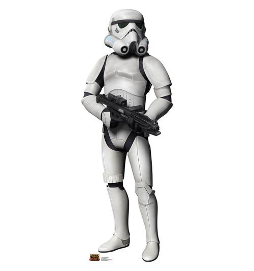 Life-size Stormtrooper - Star Wars Rebels Cardboard Standup   Cardboard Cutout