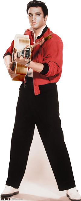Life-size Elvis Presley-Guitar Cardboard Standup | Cardboard Cutout