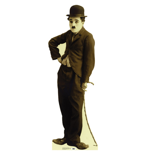 Life-size Charlie Chaplin - Tramp 2 Cardboard Standup