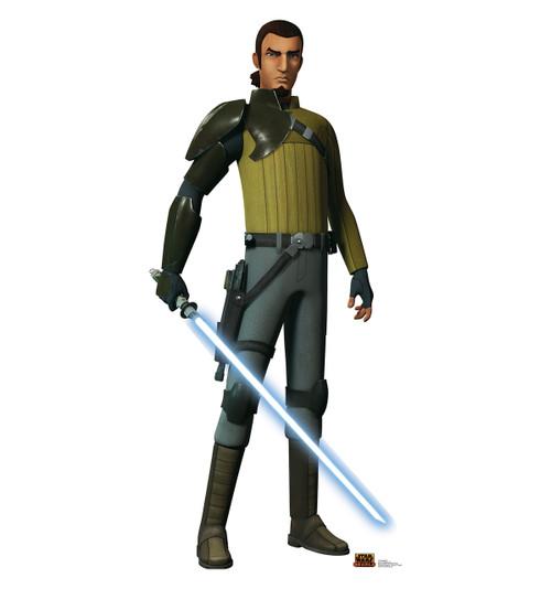 Life-size Kanan Jarrus - Star Wars Rebels Cardboard Standup | Cardboard Cutout