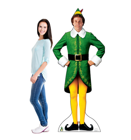 Buddy the Elf - Movie Elf - Cardboard Cutout
