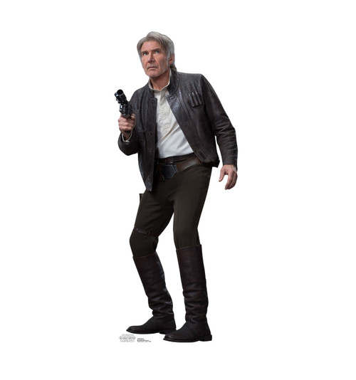 Han Solo  - The Force Awakens - Cardboard Cutout