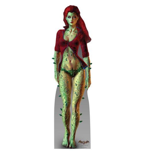 Life-size Poison Ivy - Arkham Asylum Cardboard Standup