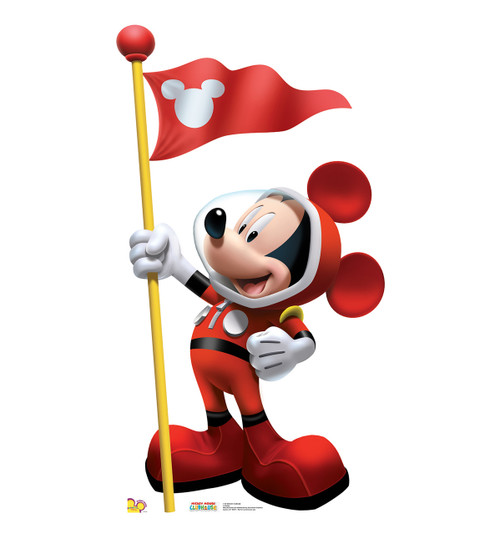 Mickey In Space - Cardboard Cutout