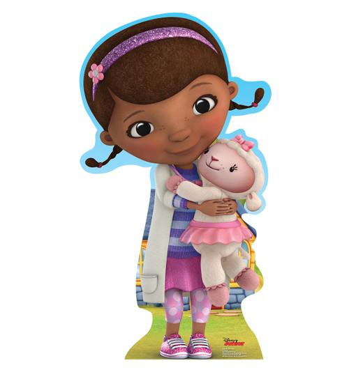 Life-size Doc McStuffins - Disney Junior Cardboard Standup