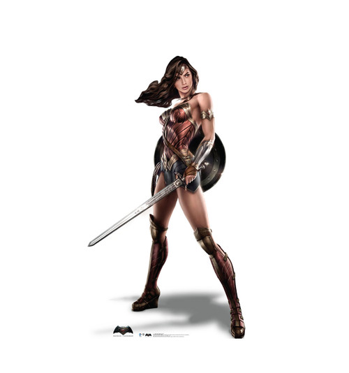 Wonder Woman - BvS - Cardboard Cutout 2127