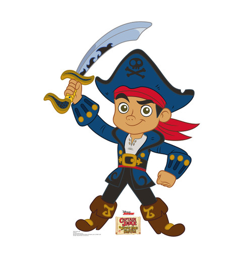 Life-size Captain Jake - Jake and The Neverland Pirates Cardboard Standup 2