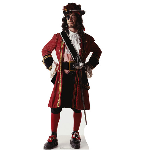 Life-size One Eyed Pirate Cardboard Standup