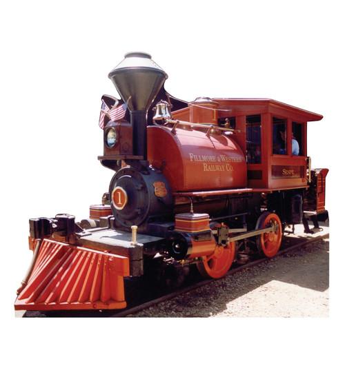 Life-size F&W Train Cardboard Standup