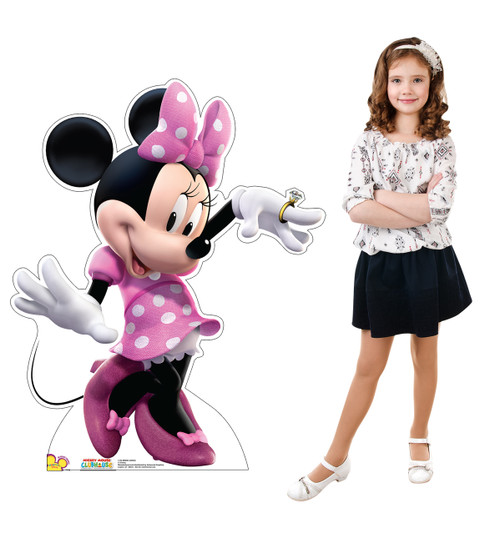 Minnie Mouse Dancing - Cardboard Cutout