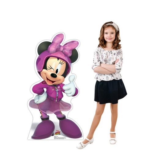 Life-size Minnie Wink (Disney's Roadster Racers) Cardboard Standup 2
