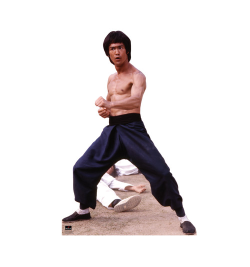 Bruce Lee  Fight Stance - Cardboard Cutout 1043