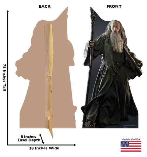 Life-size Gandalf - The Hobbit Cardboard Standup