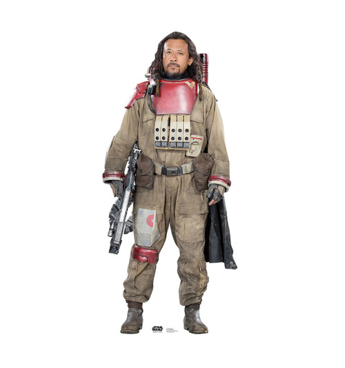 Baze Malbus - Rogue One - Cardboard Cutout Front View