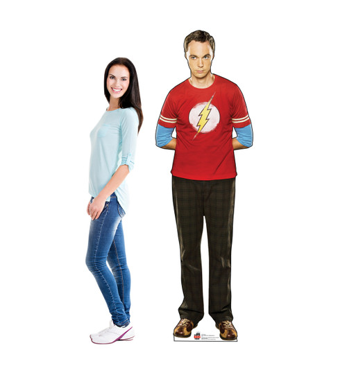 Life-size Sheldon - Big Bang Theory 1 Cardboard Standup