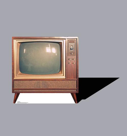 Life-size Vintage TV Cardboard Standup