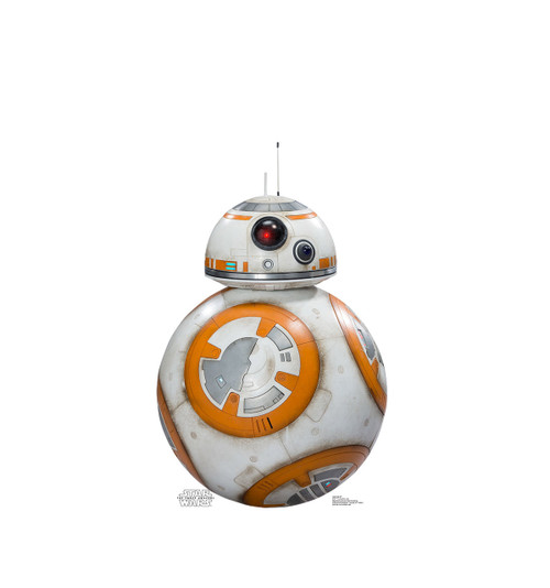 Life-size BB-8 Cardboard Standup