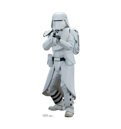 Life-size Snowtrooper Cardboard Standup