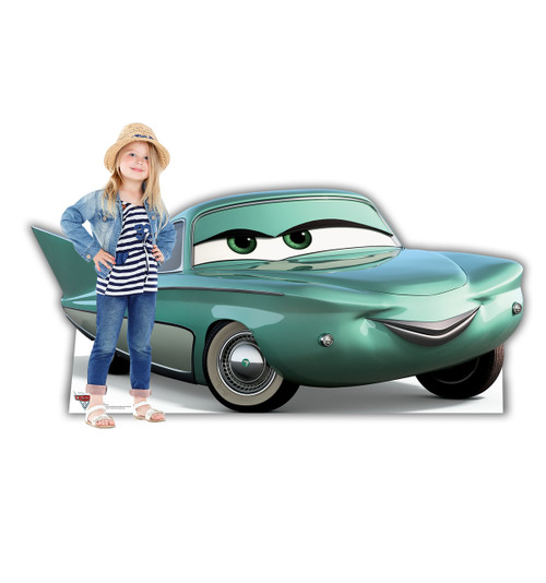 Life-size Flo (Cars 3) Cardboard Standup 2