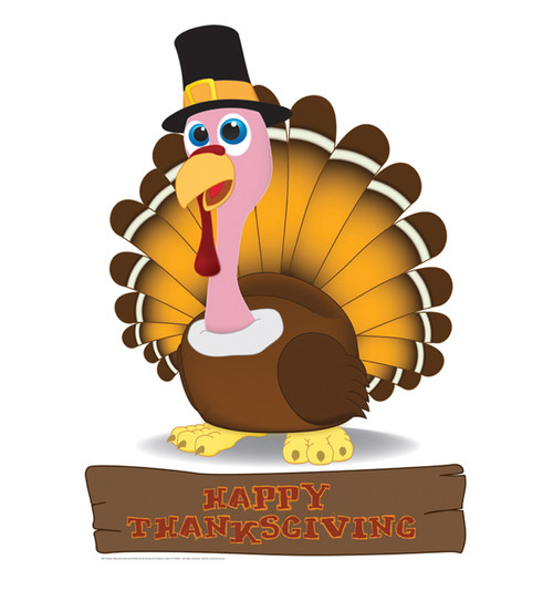 Life-size Turkey Cardboard Standup