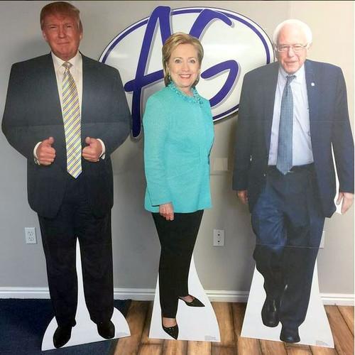 Life-size Bernie Sanders Cardboard Standup