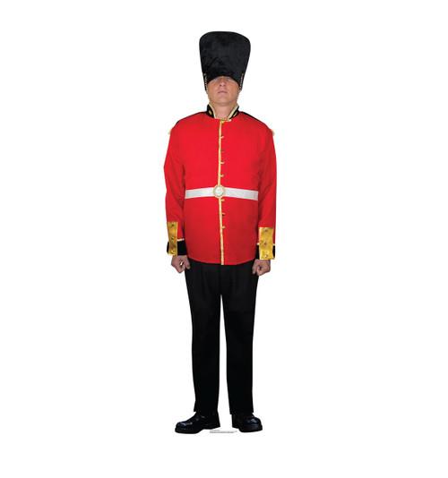 Life-size British Royal Guard Cardboard Standup