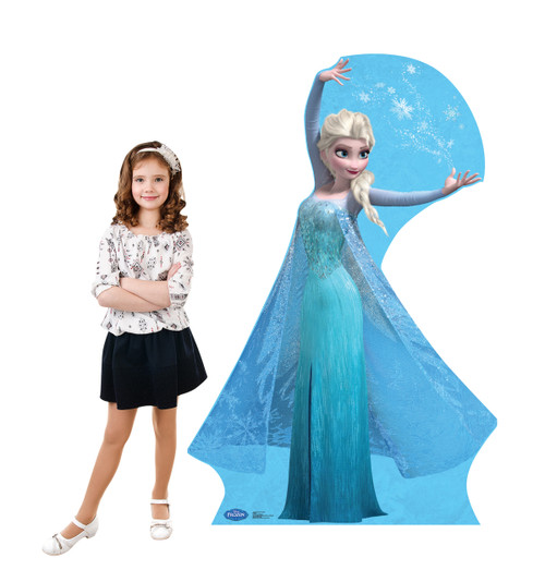 Elsa - Snowflakes - Disney's Frozen - Cardboard Cutout 1755