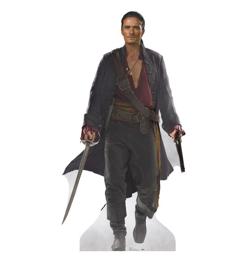 Life-size Will Turner Cardboard Standup