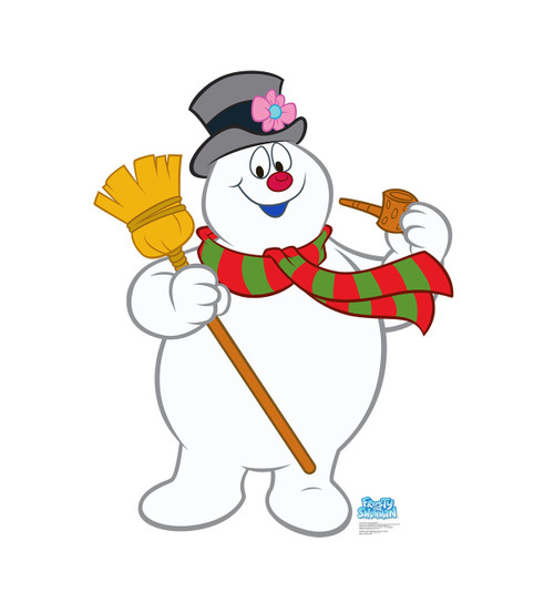 Life-size Frosty The Snowman Cardboard Standup | Frosty the Snowman Cardboard Cutout